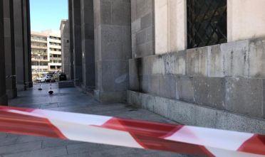 Cagliari – Molotov contro il tribunale